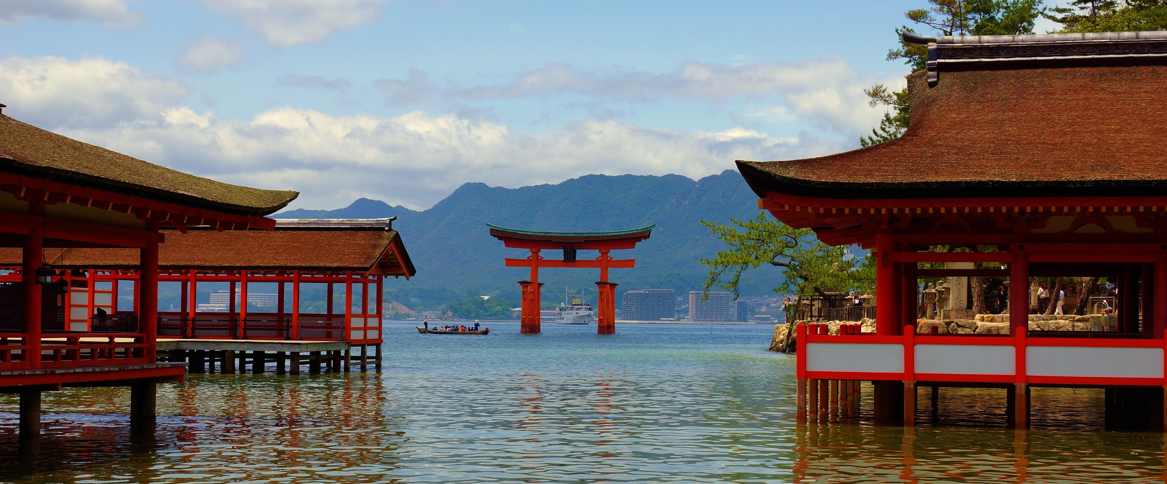Itsukushima shrine Miyajima Japan