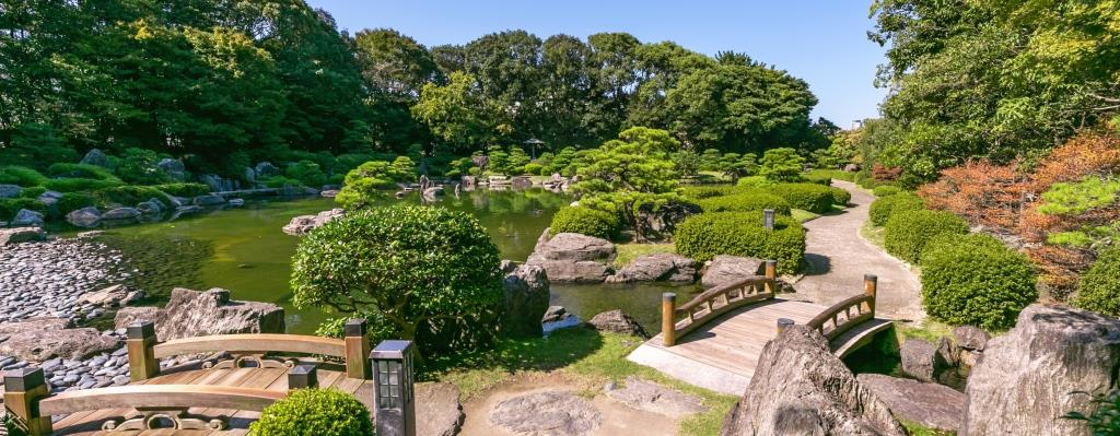 Ohori Park in Fukuoka ©Fukuoka Prefecture Tourist Association